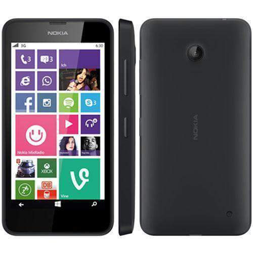 Nokia Lumia 630 8GB Black Unlocked - Refurbished Excellent - UK Cheap