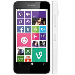 Nokia Lumia 630 8GB White Unlocked - Refurbished Good Sim Free cheap