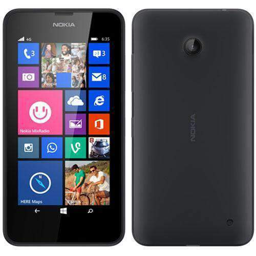 Nokia Lumia 635 8GB Black Unlocked - Refurbished Excellent - UK Cheap