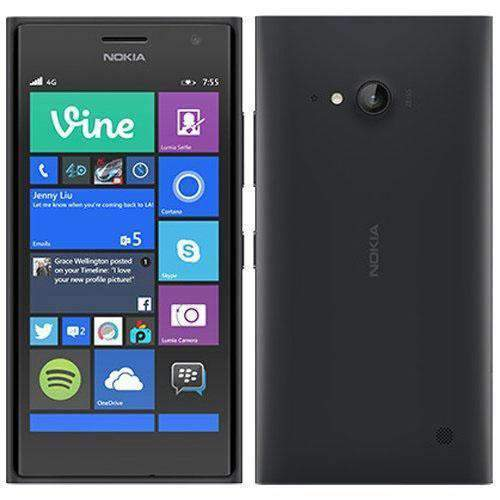 Nokia Lumia 735 4G/LTE Black/Grey Unlocked - Refurbished Excellent Sim Free cheap