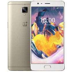 OnePlus 3 Dual SIM 64GB, Gold Unlocked - Refurbished Good