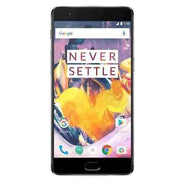 OnePlus 3T Dual SIM 128GB, Midnight - Refurbished Very Good Sim Free cheap