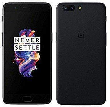 OnePlus 5 128GB Midnight Black Unlocked - Refurbished Excellent