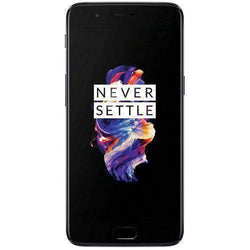 OnePlus 5 Dual SIM 128GB Midnight Black - Refurbished Good