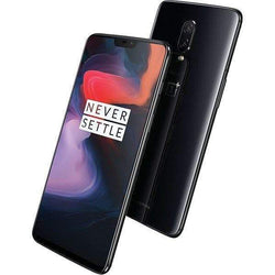Oneplus 6 128GB Dual SIM - Midnight Black (Unlocked) - Refurbished Excellent Sim Free cheap