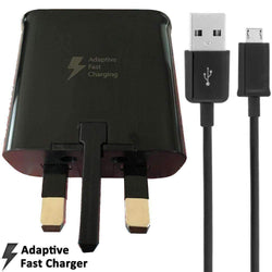Samsung 2AMP UK Mains Fast Charging Adapter EP-TA20UBE + MicroUSB Cable - UK Cheap