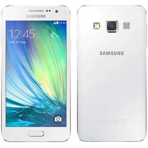Samsung Galaxy A3 16GB (2015) Pearl White Unlocked - Refurbished Excellent Sim Free cheap