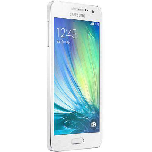 Samsung Galaxy A3 16GB (2015) Pearl White Unlocked - Refurbished Excellent - UK Cheap