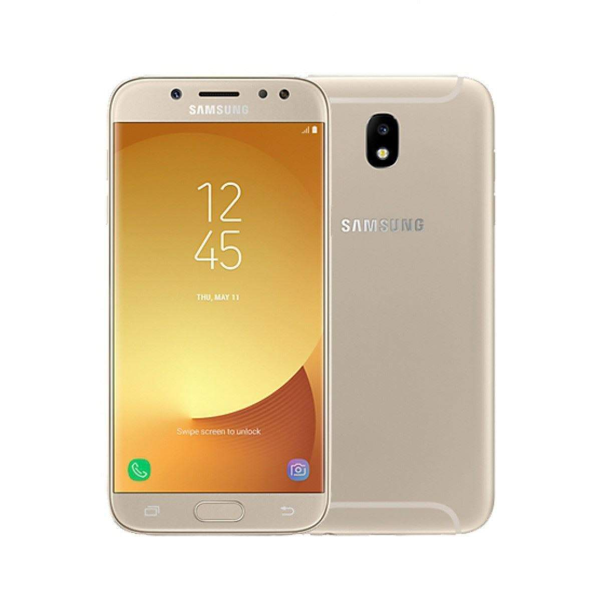 Samsung Galaxy J5 (2017) 16GB, Gold Unlocked - Refurbished Excellent