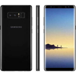 Samsung Galaxy Note 8 64GB, Midnight Black - Refurbished Good Sim Free cheap