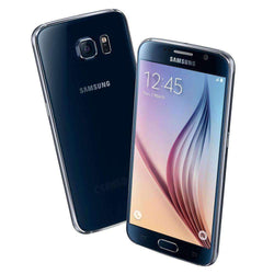 Samsung Galaxy S6 32GB Black Sapphire (O2 UK) - Refurbished Very Good Sim Free cheap