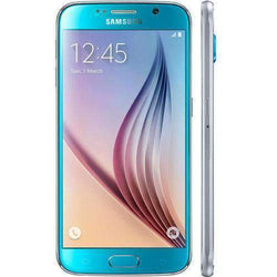 Samsung Galaxy S6 32GB Blue Topaz Unlocked - Refurbished Very Good Sim Free cheap