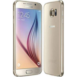 Samsung Galaxy S6 32GB Gold Platinum (O2 Locked) - Refurbished Very Good Sim Free cheap