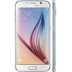 Samsung Galaxy S6 32GB, White Pearl (O2 Locked) - Refurbished Very Good Sim Free cheap