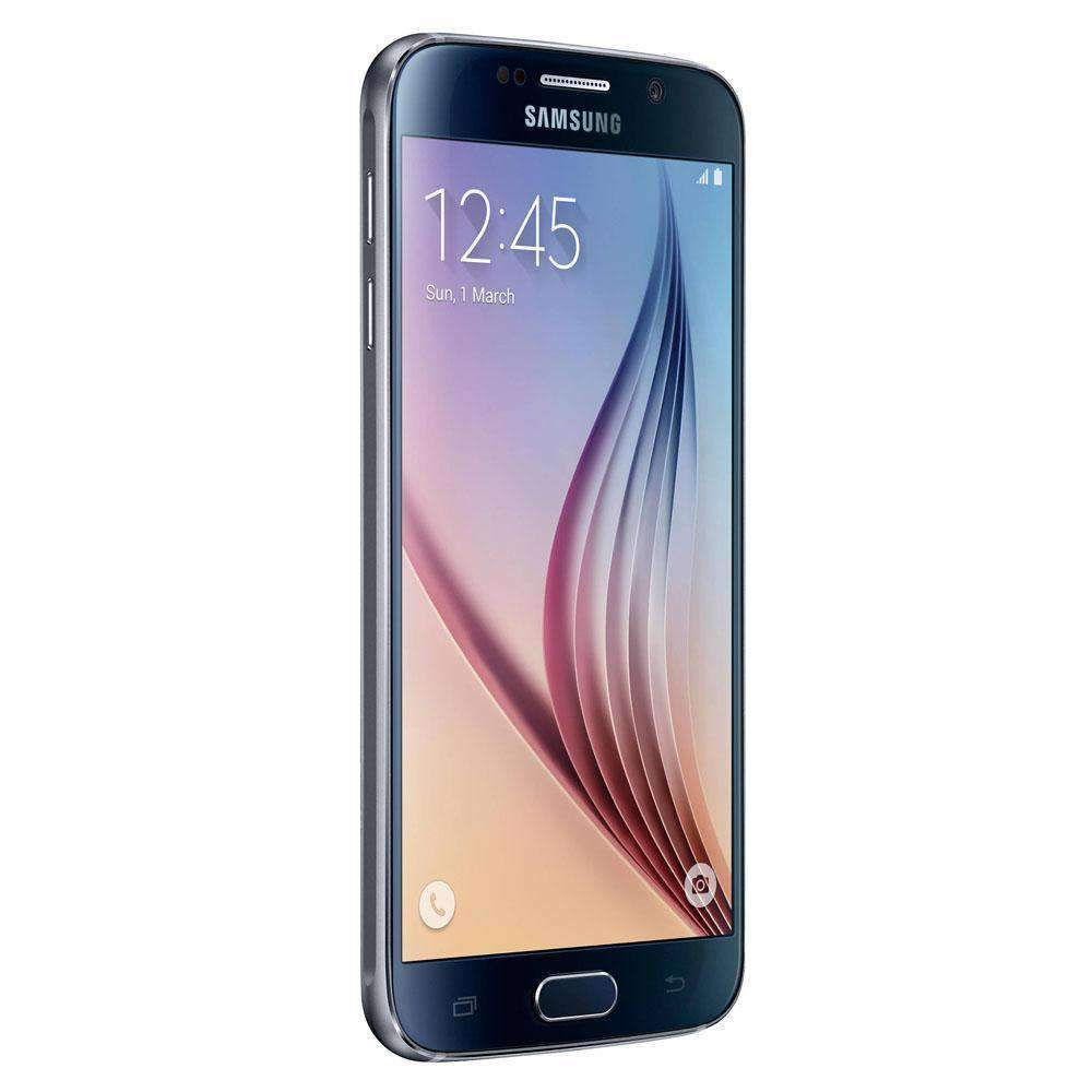 Samsung Galaxy S6 64GB Black Sapphire Unlocked - Refurbished Excellent Sim Free cheap