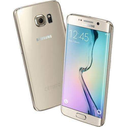 Samsung Galaxy S6 Edge 32GB, Gold Platinum (EE Locked) - Refurbished Very Good Sim Free cheap