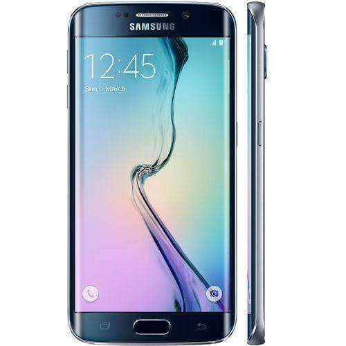 Samsung Galaxy S6 Edge 64GB Black Sapphire Unlocked - Refurbished Excellent Sim Free cheap