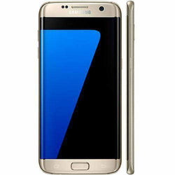 Samsung Galaxy S7 Edge 32GB Gold Platinum Unlocked - Refurbished Excellent Sim Free cheap