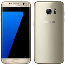 Samsung Galaxy S7 Edge 32GB Gold Platinum Unlocked - Refurbished Good Sim Free cheap