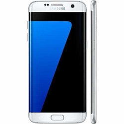 Samsung Galaxy S7 Edge 32GB Pearl White Unlocked - Refurbished Good Sim Free cheap