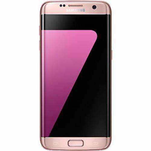 Samsung Galaxy S7 Edge 32GB Pink Gold Unlocked - Refurbished Very Good Sim Free cheap