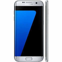 Samsung Galaxy S7 Edge 32GB, Silver Titan (Unlocked) - Refurbished Good Sim Free cheap