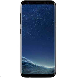 Samsung Galaxy S8 64GB, Midnight Black O2 LOCKED- Refurbished Good Sim Free cheap