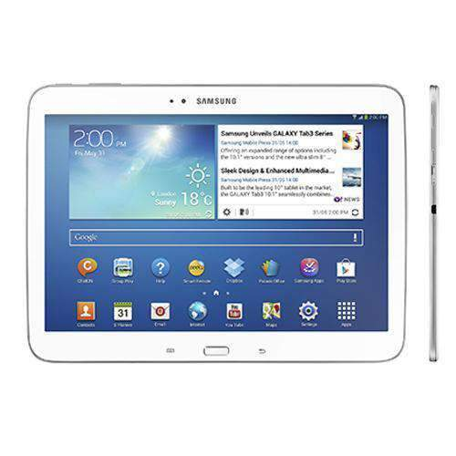 Samsung Galaxy Tab 3 10.1 32GB WiFi White - Refurbished Excellent Sim Free cheap