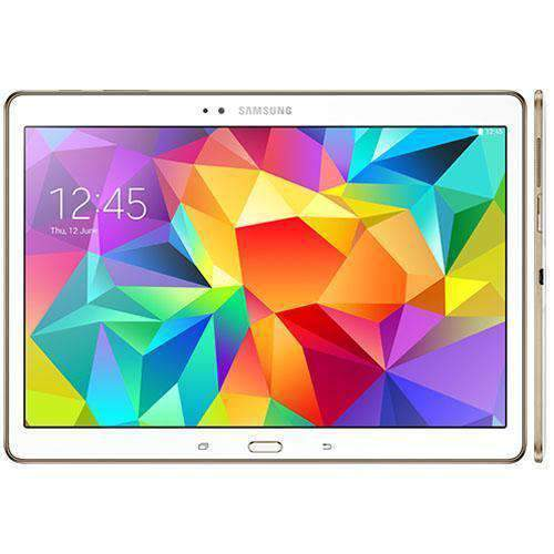 Samsung Galaxy Tab S 10.5 16GB WiFi + 4G Dazzling White Unlocked - Refurbished Very Good Sim Free cheap