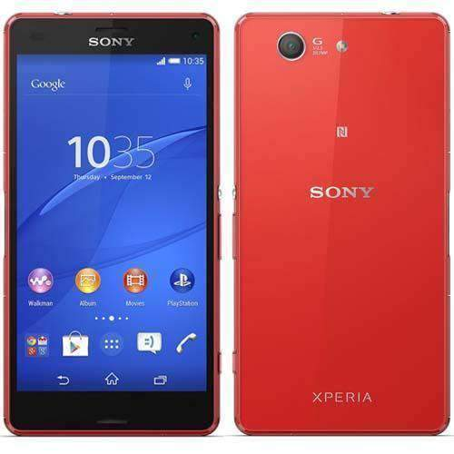 Sony Xperia Z3 Compact 16GB Orange Unlocked - Refurbished Very Good Sim Free cheap