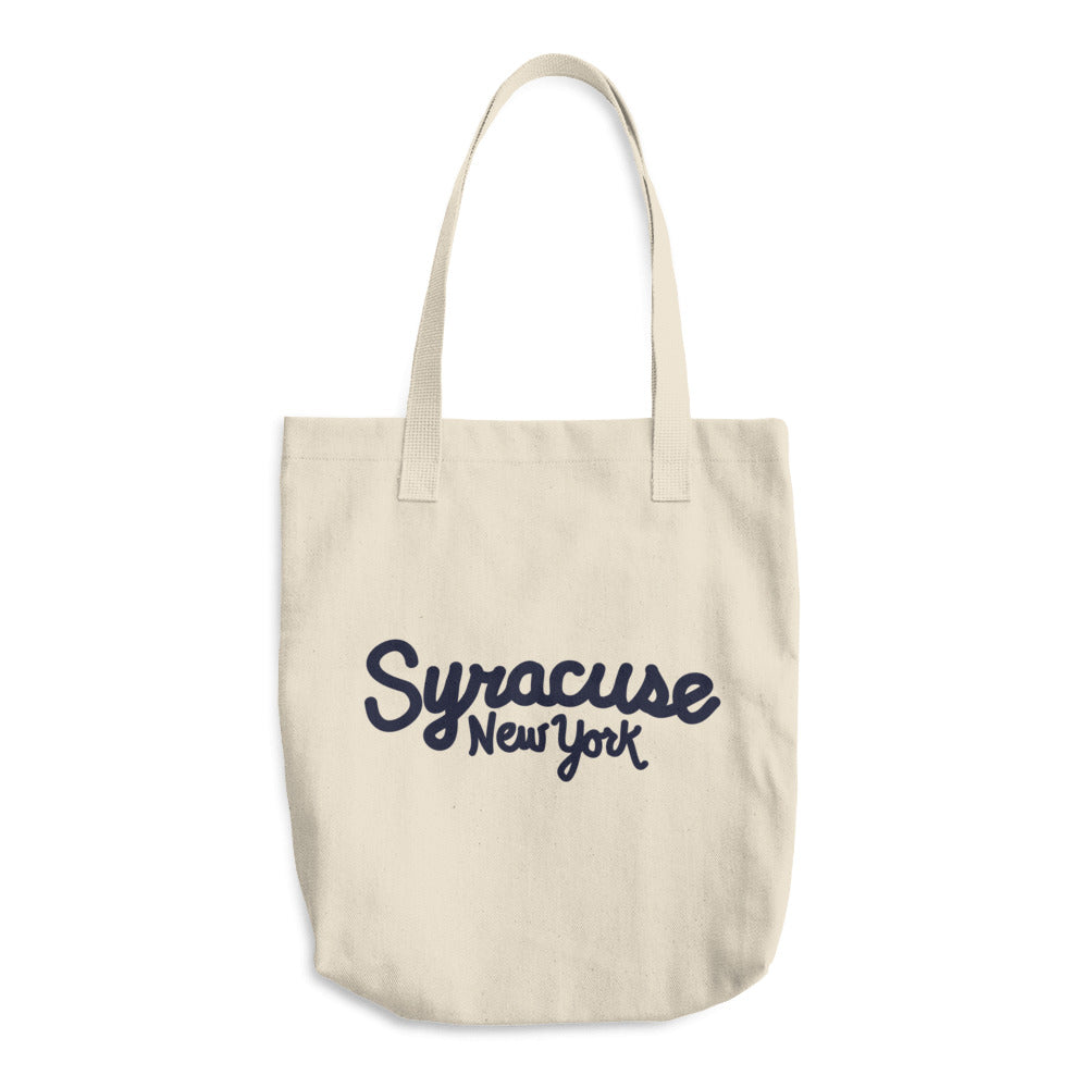 Syracuse NY Cotton Tote Bag