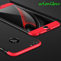 Full Protection 360 Case for iPhone 6s 6 7 Case   8 8plus x Case for Mobile Phone Matte Phone Case