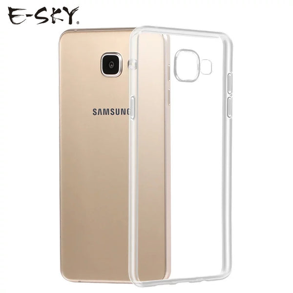 E-SKY Ultra Thin Soft TPU Phone Cases For Samsung galaxy S9 S9 plus A7 A5 J5 J7 S7 S8 C5 S8 plus S7 Transparent Silicone Case