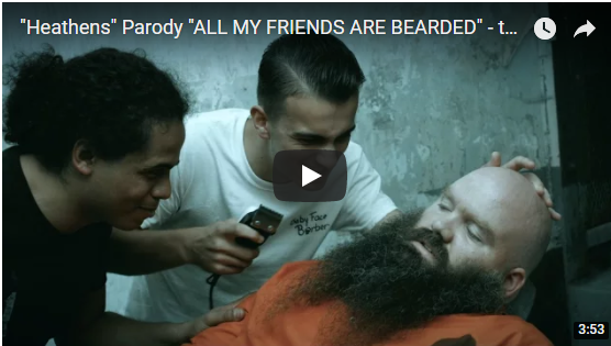 All my Friends are Bearded, You Should Know