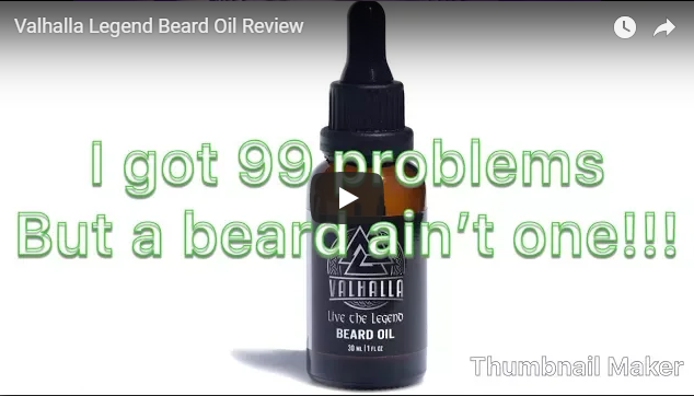 Valhalla Legend Beard Oil Review by Blatantly Bearded