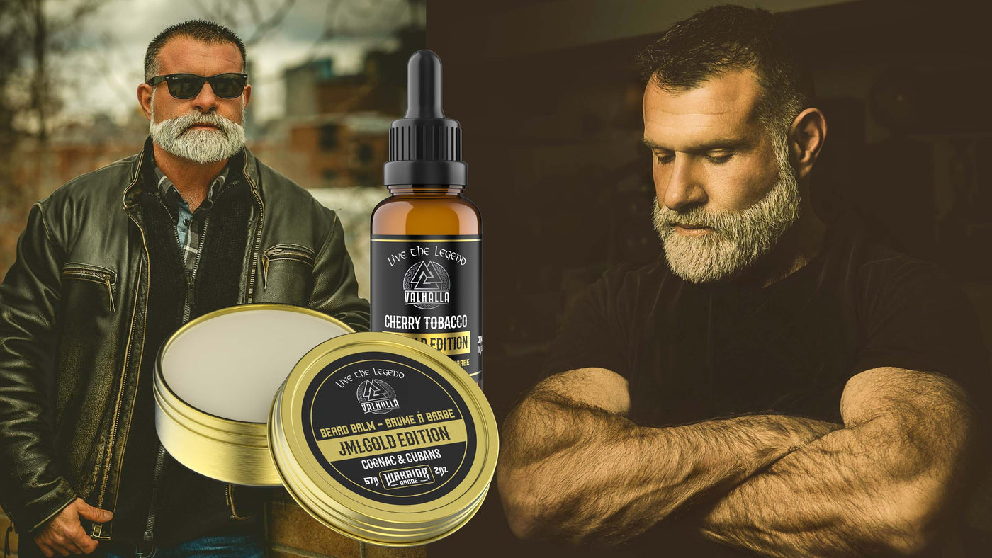JMLGOLD - Golden Beard Care - Special Edition Beard Care made in Canada - Viking Beard Care