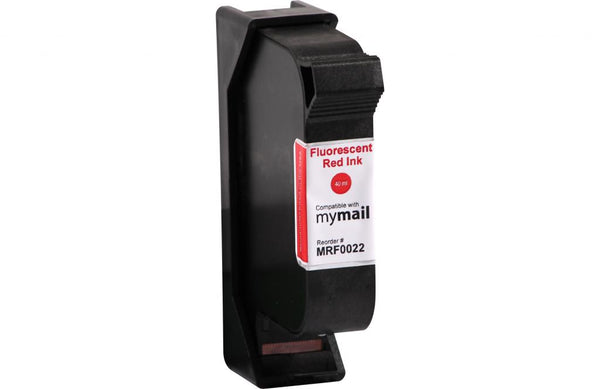 Postage Meter Fluorescent Red Ink Cartridge for FP Mailing Solutions MIC 580032002200