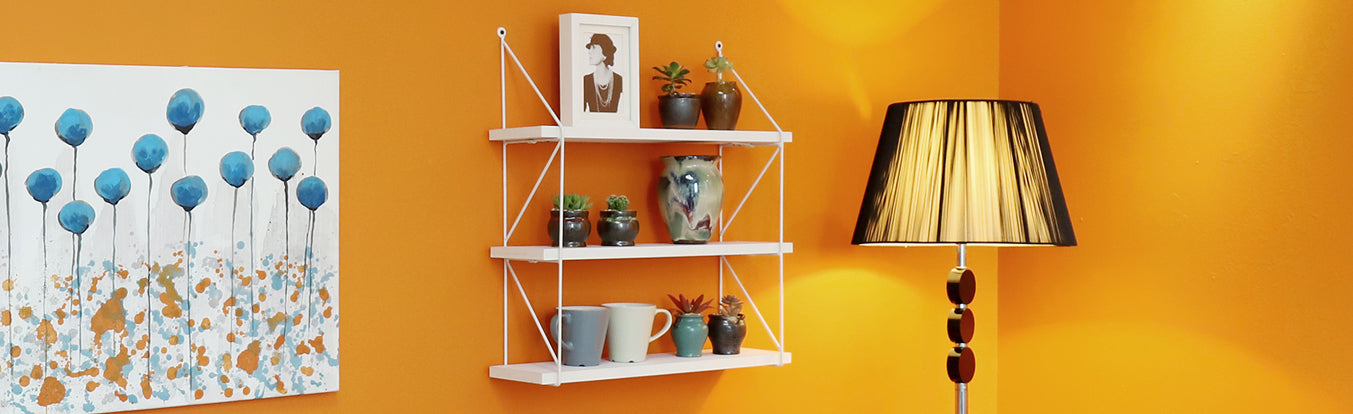Tiered floating shelf by wellnadstore