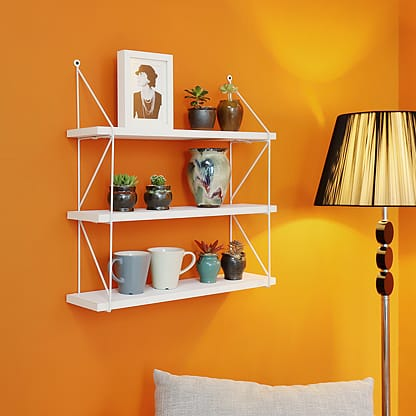 Tiered wall shelf, Welland Industries LLC
