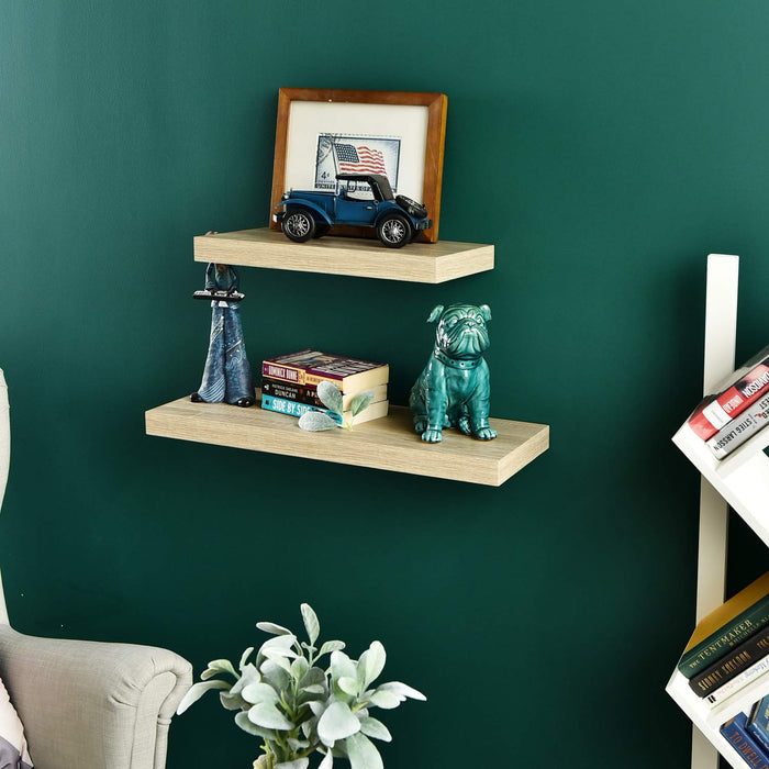 1.5 inch Thick Floating Wall Shelf.