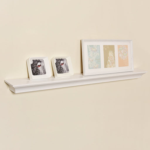 Crown Molding Mantle Display Ledge, 48 Inch, Welland