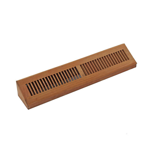 Brazilian Cherry Hardwood Vent Baseboard Diffuser Wall Register Finished
