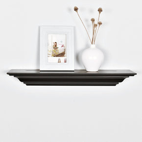 Corona Crown Molding Floating Wall Shelf, 24-Inch, Welland