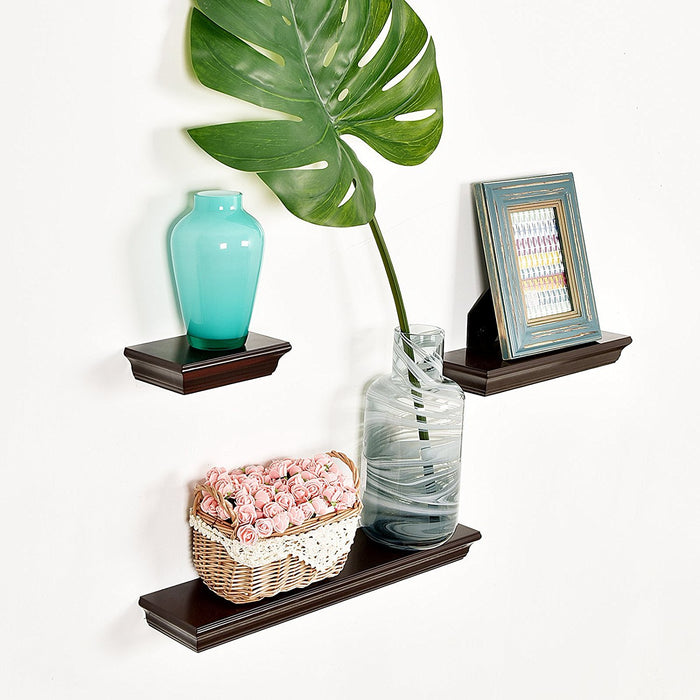 Dover 3 Piece Display Shelves Set of 3, WELLAND