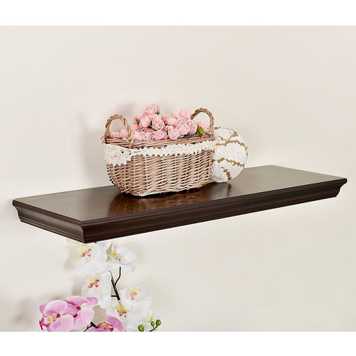 Dover Floating Ledge Wall Shelf, 24 Inch