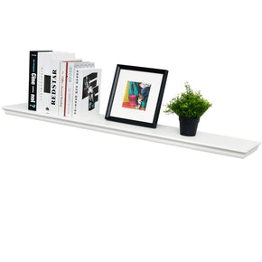 "Dover Floating Wall Shelf, 48""L x 8""D x 1.5""T"
