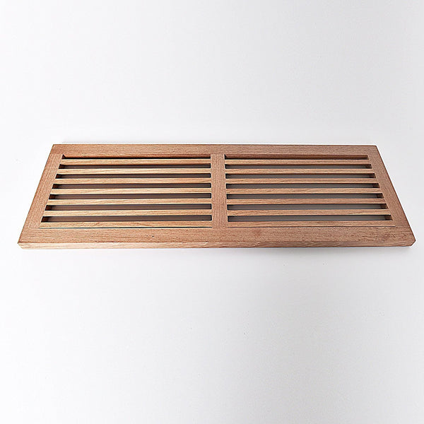 Brazilian Cherry Cold Air Return Wall Vent Unfinished
