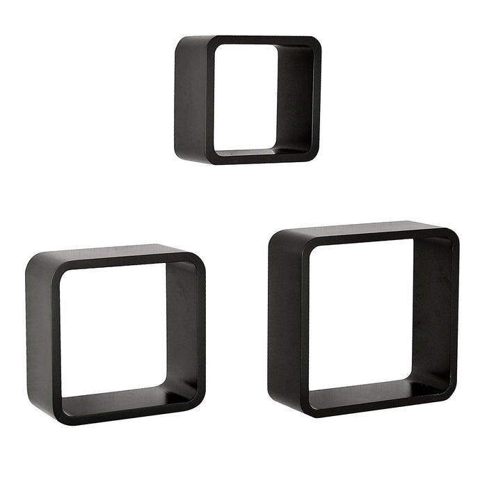 Cube Shelf Wall Displaying Shelf set of 3, Welland Industries LLC