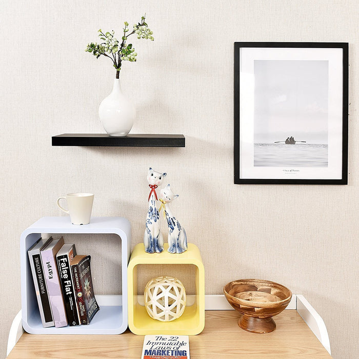 Simons Floating Wall Shelf, 18''L x 8''D x 1.25''T