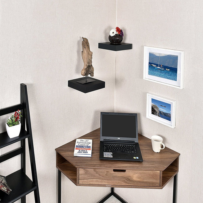 Mission floating wall shelf, 9.25-inch Welland